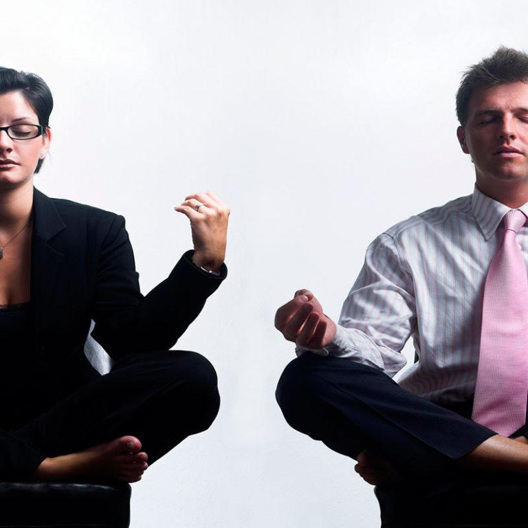 Ejercicio de relajación para aliviar el estrés