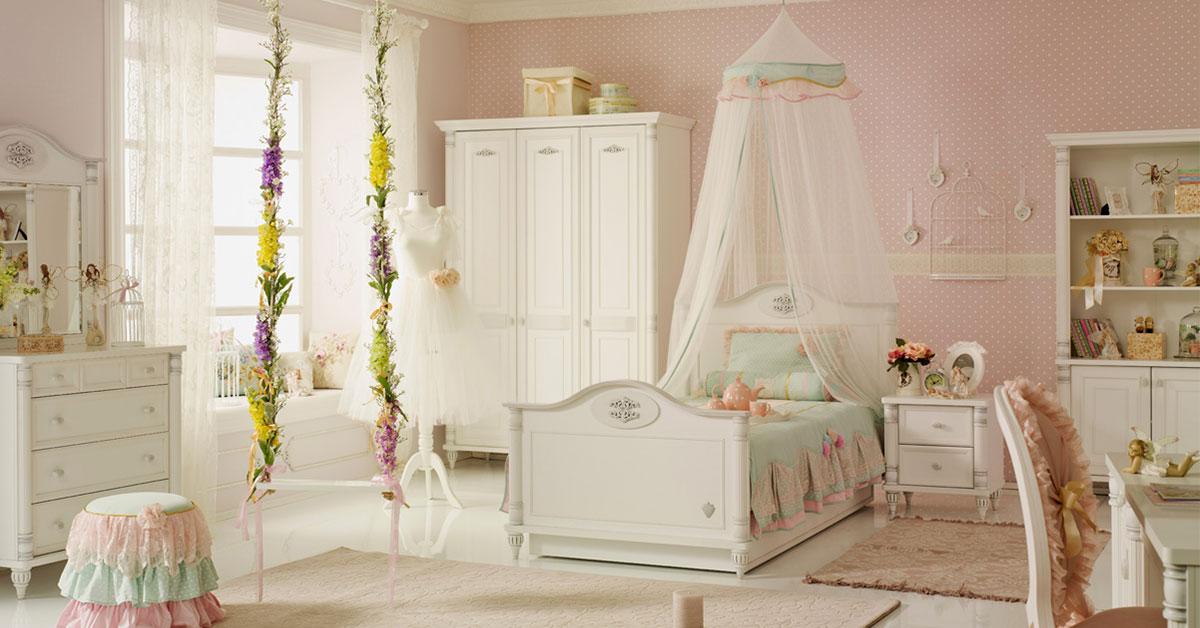 Ideas para decorar la habitación de tu niña